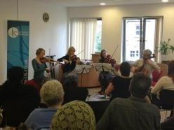 CLS Quartet performs at St Joseph's Hospice