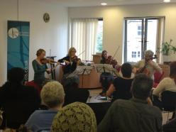 CLS Quartet performs at St Joseph's Hospice