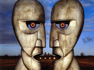 Pink Floyd's Album Cover for The Division Bell