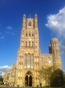 Ely Cathedral, 'the Ship of the Fens', our second stop on the Tour and the venue for our BBC Radio 3 broadcast