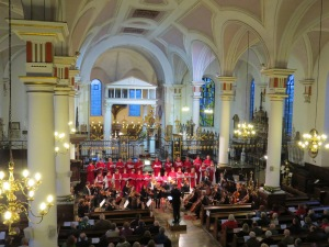 Choir and Orchestra in concert at Derby Cathedral