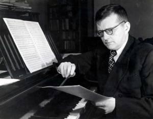 Shostakovich at Piano