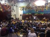 Luton rehearsal - carnival song