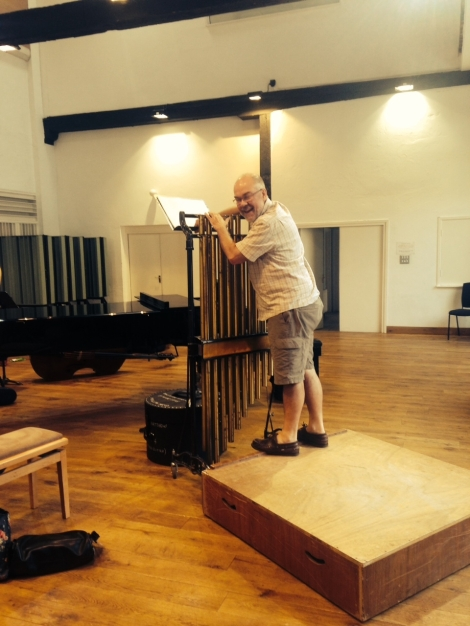 setting up tubular bells