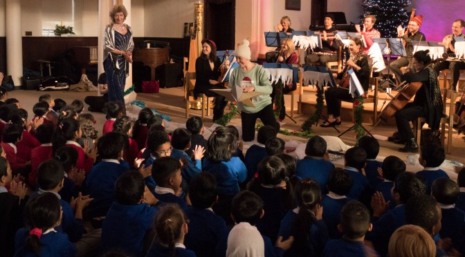 Spotlight on our recent education projects with Dame Felicity Lott