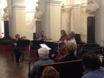 Lunchtime concert at St Thomas' hospital, London