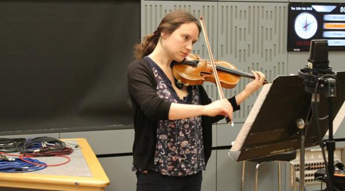 Alexandra Wood on BBC In Tune