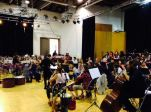 Rehearsals for Luton, July 2015 from @orchestraslive Twitter Feed