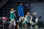 Ellie Laugharne as Tina, Lucy Schaufer as Older Woman, Kitty Whately as Stewardess and Victoria Simmonds as Minskwoman Photographer - Robert Workman