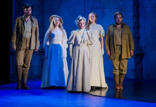 Nicholas Lester as Frédéric, Fleur de Bray as Rose, Fiona Kimm as Mrs Bentson, Maud Millar as Ellen and Robert Murray as Gérald Photographer - Robert Workman