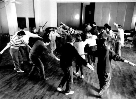 Workshops with Peter Wiegold, January 1989