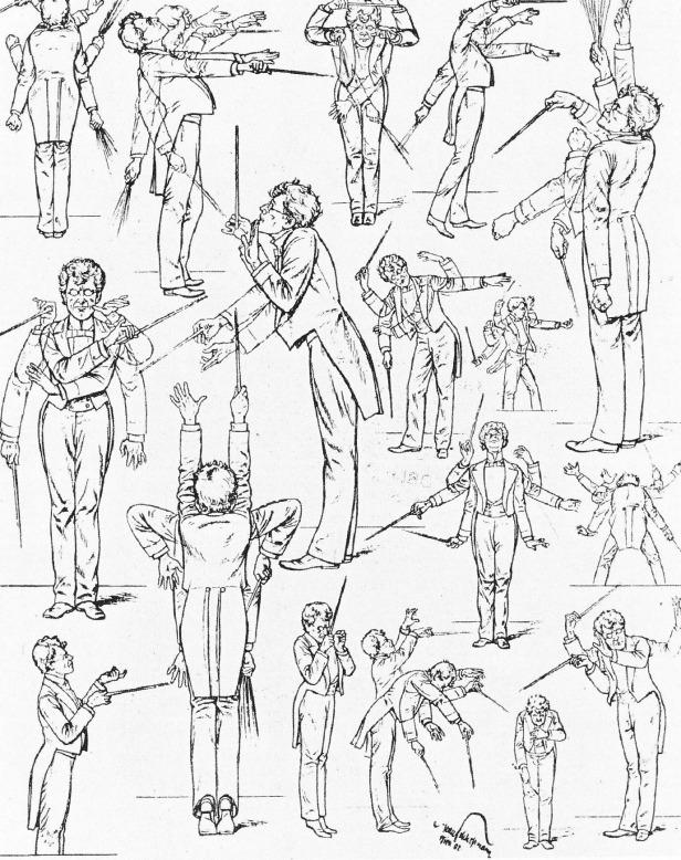 Mahler_conducting_caricature 1901