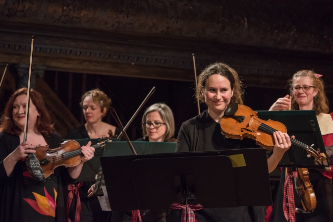 City of London Sinfonia's commitment to 50% female artistic leaderships