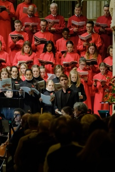 Stephen Whitford in WW1 Centenary: Fauré Requiem. (c) James Berry Photography
