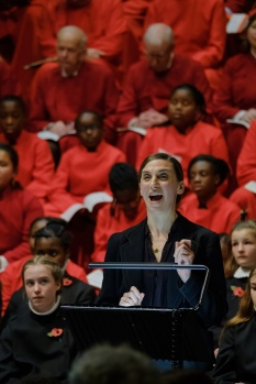 Emma Pallant in WW1 Centenary: Fauré Requiem. (c) James Berry Photography