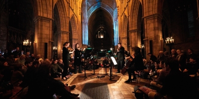 CLS strings at Southwark Cathedral