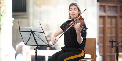 Ruth Gibson, viola