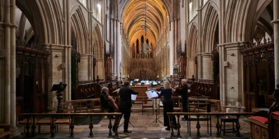 CLS string quartet at Southwark Cathedral